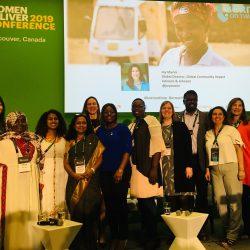 Born on Time delegation at Women Deliver side event